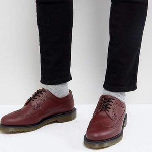 Dr. Martens 3989 Smooth in Cherry Red Unisex Shoes